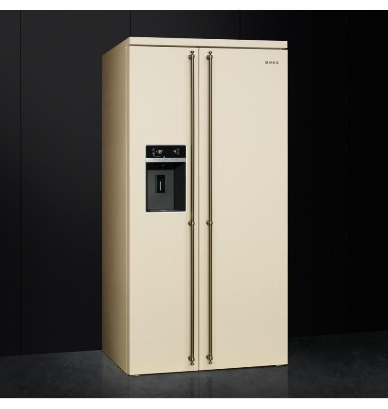 /compartimiento puerta Smeg S35STRP congelador solapa/
